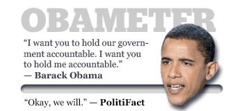 Politifact's Obameter